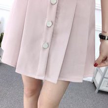 Load image into Gallery viewer, 4 Colors Sweet High Waist Pleated Skirt SP1812345