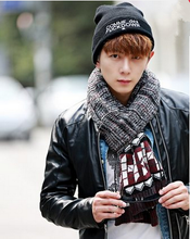 Load image into Gallery viewer, 4 Colours Man Style Winter Scarf SP154068 - SpreePicky  - 5