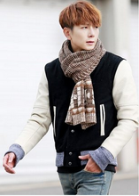 Load image into Gallery viewer, 4 Colours Man Style Winter Scarf SP154068 - SpreePicky  - 4