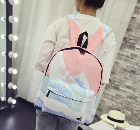 [4 Styles]Leisure Canvas Satchel SP166859