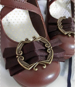 4 colors Lolita Princess Bow Shoes SP153553 - SpreePicky  - 11