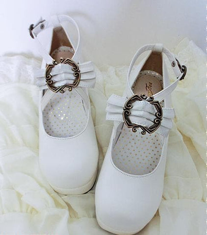 4 colors Lolita Princess Bow Shoes SP153553 - SpreePicky  - 8