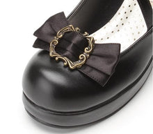 Load image into Gallery viewer, 4 colors Lolita Princess Bow Shoes SP153553 - SpreePicky  - 10