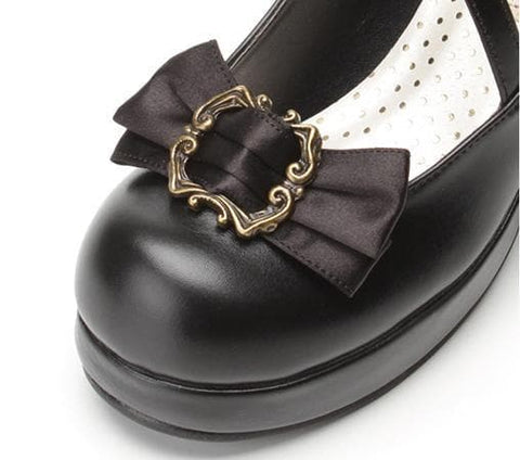 4 colors Lolita Princess Bow Shoes SP153553 - SpreePicky  - 10
