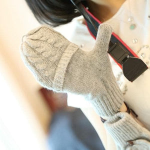5 Colors Adorable Winter Knitted Gloves SP154064 - SpreePicky  - 4