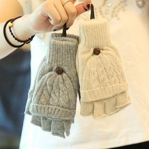 5 Colors Adorable Winter Knitted Gloves SP154064 - SpreePicky  - 3