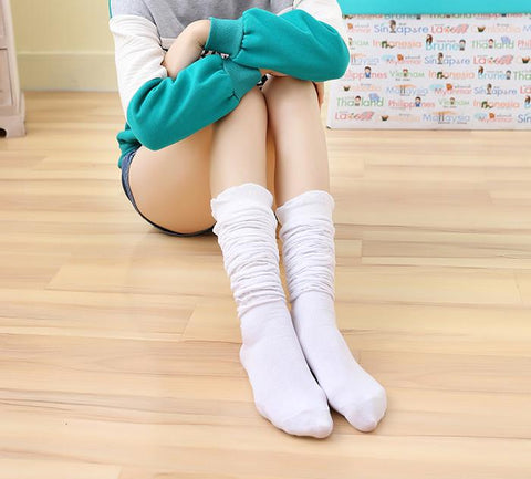 5 Colors Bowknot Thigh High Long Socks SP153529 - SpreePicky  - 11