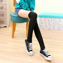 Load image into Gallery viewer, 5 Colors Bowknot Thigh High Long Socks SP153529 - SpreePicky  - 12