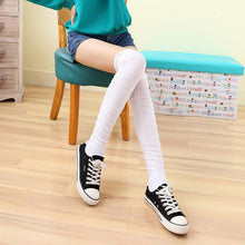 Load image into Gallery viewer, 5 Colors Bowknot Thigh High Long Socks SP153529 - SpreePicky  - 10