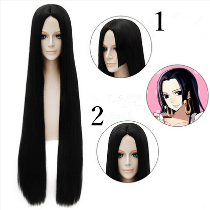 6 Colors Cosplay ONE PIECE Boa Hancock Long Straight Wig 100cm SP152564 - SpreePicky  - 1