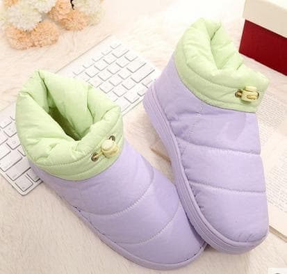 5 Colors Fleece Warming Snow Boots SP168146