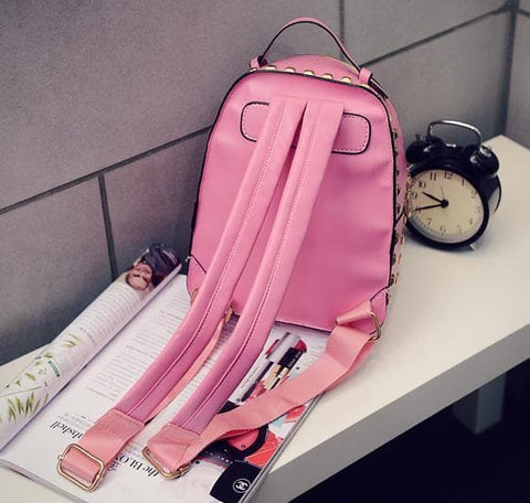 5 Colors Hologram Laser Rivet Backpack SP166997