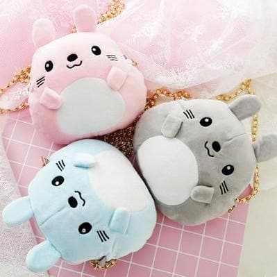 {Free Shipping} 5 Colors Kawaii Animal Mini Shoulder Bag SP1710164
