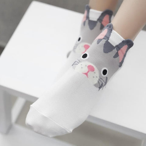 5 Colors Kawaii Bunny Socks SP167750