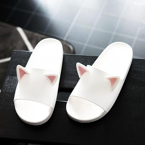 5 Colors Kawaii Cat Ears Slippers SP1812241