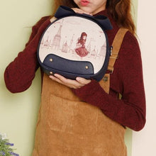 Load image into Gallery viewer, 5 Colors Kawaii Circle Cross Body Bag SP179869