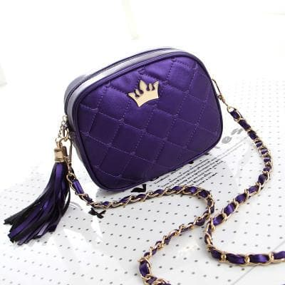 5 Colors Little Crown Shoulder Bag SP154297 - SpreePicky  - 9