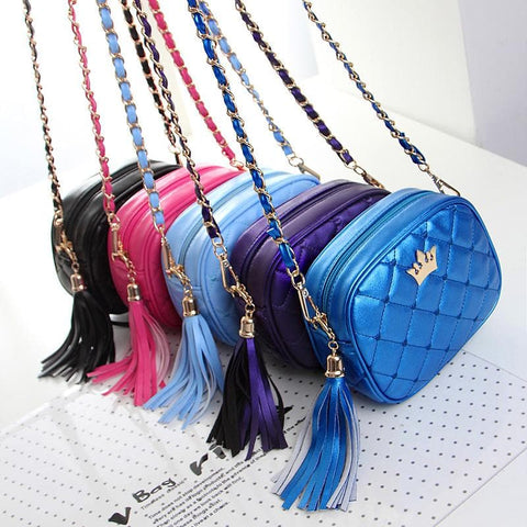 5 Colors Little Crown Shoulder Bag SP154297 - SpreePicky  - 5