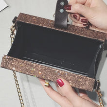 Load image into Gallery viewer, 5 Colors Locking Glitter Box-Purse SP1811822