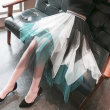 Load image into Gallery viewer, 5 Colors Pastel Irregular Gauze Skirt S12673