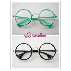 5 Colors Retro Big Round Eyes Glasses SP141333 - SpreePicky  - 6