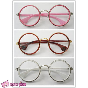 5 Colors Retro Big Round Eyes Glasses SP141333 - SpreePicky  - 5