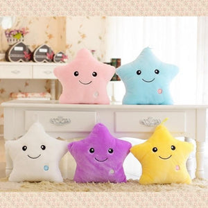 5 Colors Shiny Star Cushion S12666