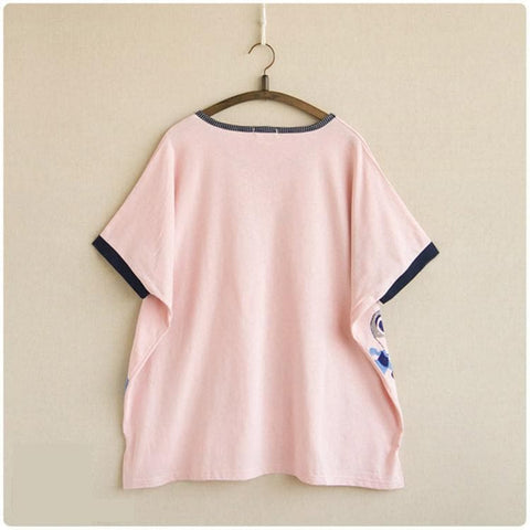 5 colors Kawaii Rabbit Printing T-Shirt SP167407