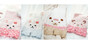 5 Colors Kawaii Animals Fleece High Waist Warming Shorts SP164922 - SpreePicky  - 2