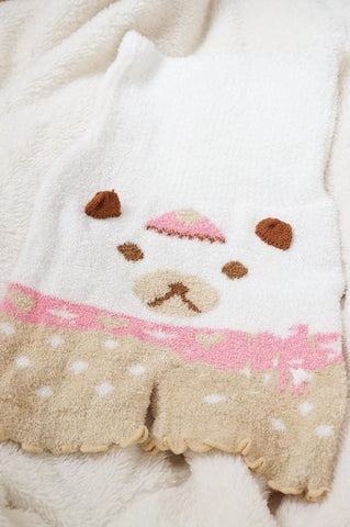 5 Colors Kawaii Animals Fleece High Waist Warming Shorts SP164922 - SpreePicky  - 7