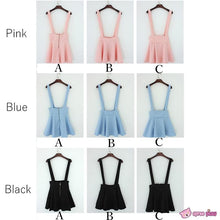 Load image into Gallery viewer, [ 6 Colors] 3 Styles Candy Suspender Skirt SP151886 - SpreePicky  - 3