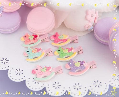 6 Colors Cutie Horse Hair Clip SP153783 - SpreePicky  - 3