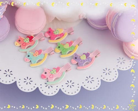 6 Colors Cutie Horse Hair Clip SP153783 - SpreePicky  - 4