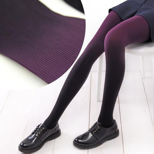 6 Colors Gradual Color Tights SP153813 - SpreePicky  - 1