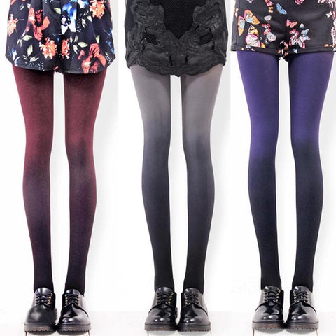 6 Colors Gradual Color Tights SP153813 - SpreePicky  - 4