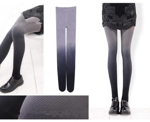 6 Colors Gradual Color Tights SP153813 - SpreePicky  - 6