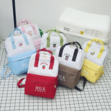 6 Colors Harajuku Milk Printing Backpack SP1812106