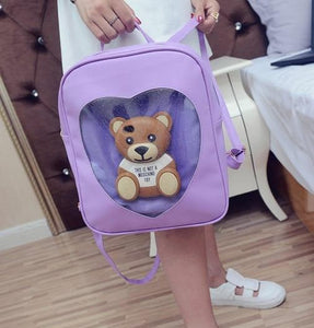 6 Colors Kawaii Heart Backpack SP178851