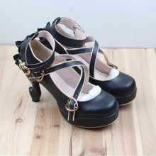 Load image into Gallery viewer, 6 Colors Lolita Table Leg High Heels Platform Shoes SP154528 - SpreePicky  - 3