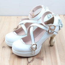 Load image into Gallery viewer, 6 Colors Lolita Table Leg High Heels Platform Shoes SP154528 - SpreePicky  - 4
