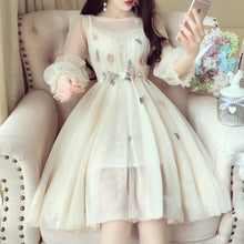 Load image into Gallery viewer, Final Stock! 6 Colors Sweet Fairy Flower Dress SP1812262