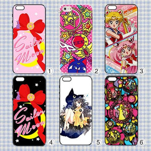 6 Patterns Sailor Moon Iphone/Xiaomi/Samsung Phone Case SP153335 Page2 - SpreePicky  - 1