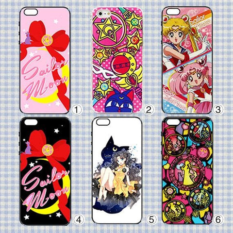 6 Patterns Sailor Moon Iphone/Xiaomi/Samsung Phone Case SP153335 Page1