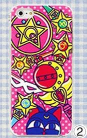6 Patterns Sailor Moon Iphone/Xiaomi/Samsung Phone Case SP153335 Page1 - SpreePicky  - 5