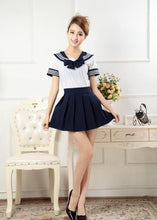 Load image into Gallery viewer, 7 Colors Cosplay Costume Sailor Collar School Uniform Set SP179818