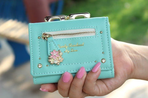 7 Colors Cutie Short Wallet Purse SP153526 - SpreePicky  - 8