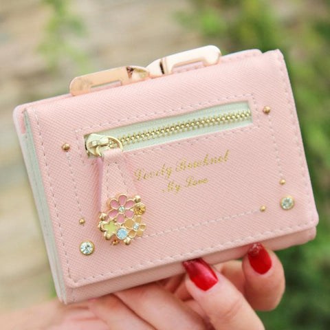 7 Colors Cutie Short Wallet Purse SP153526 - SpreePicky  - 4
