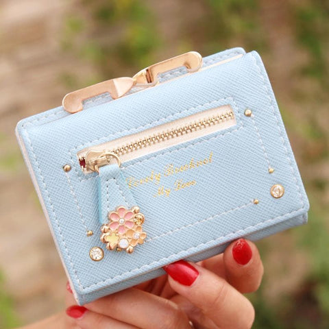 7 Colors Cutie Short Wallet Purse SP153526 - SpreePicky  - 6