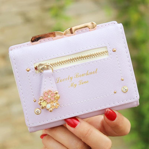 7 Colors Cutie Short Wallet Purse SP153526 - SpreePicky  - 5