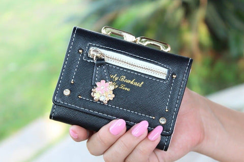 7 Colors Cutie Short Wallet Purse SP153526 - SpreePicky  - 9